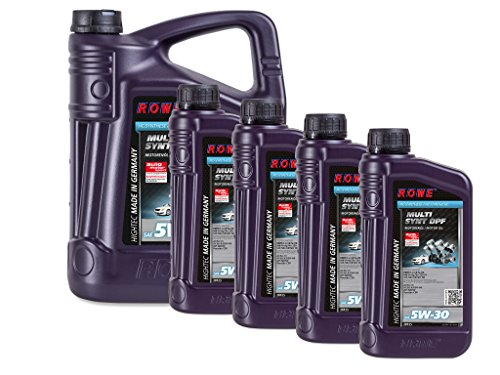 9 (5+4) Liter ROWE HIGHTEC MULTI SYNT DPF SAE 5W-30