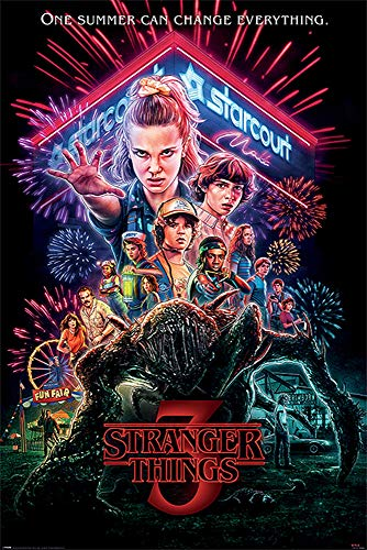 Stranger Things Maxi Poster, Multicolore, 61 x 91,5 cm