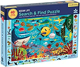 Ocean Life Search & Find Puzzle