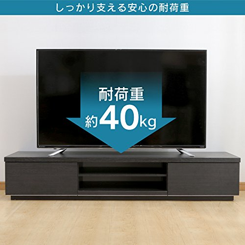 【32~50型推奨】アイリスオーヤマテレビ台テレビボードローボード幅約150cm奥行38.8cm高さ28.2cm32型43型オフホワイト扉付組み立て耐荷重40kgBAB-150