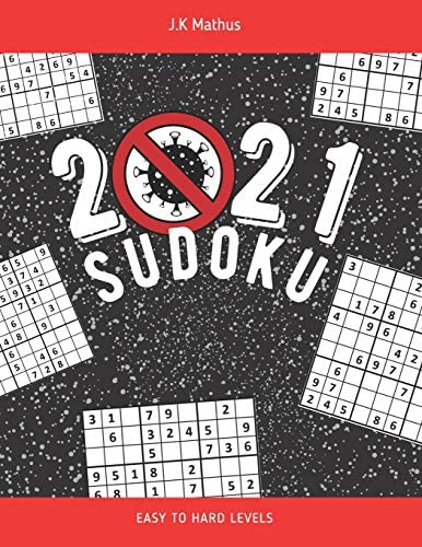 2021 Sudoku How to Survive Quarantine and Relax 120 Easy to Hard Levels Puzzles with Solutions product image