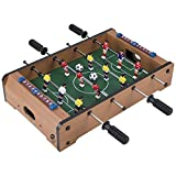WGW Mini Foot Ball Tabletop Table Game Sets Football Foosball Tables
