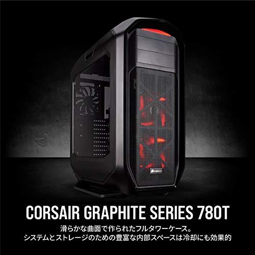 CorsairGraphite780TBlackversionE-ATX規格対応プレミアムフルタワーPCケースCS5319CC-9011063-WW
