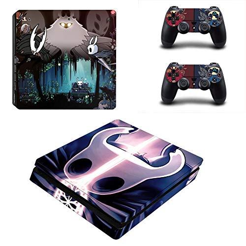 FENGLING Hollow Knight Ps4 Slim Skin Sticker Calcomanía para Playstation 4 Consola y Controlador Skin Ps4 Slim Sticker Vinyl