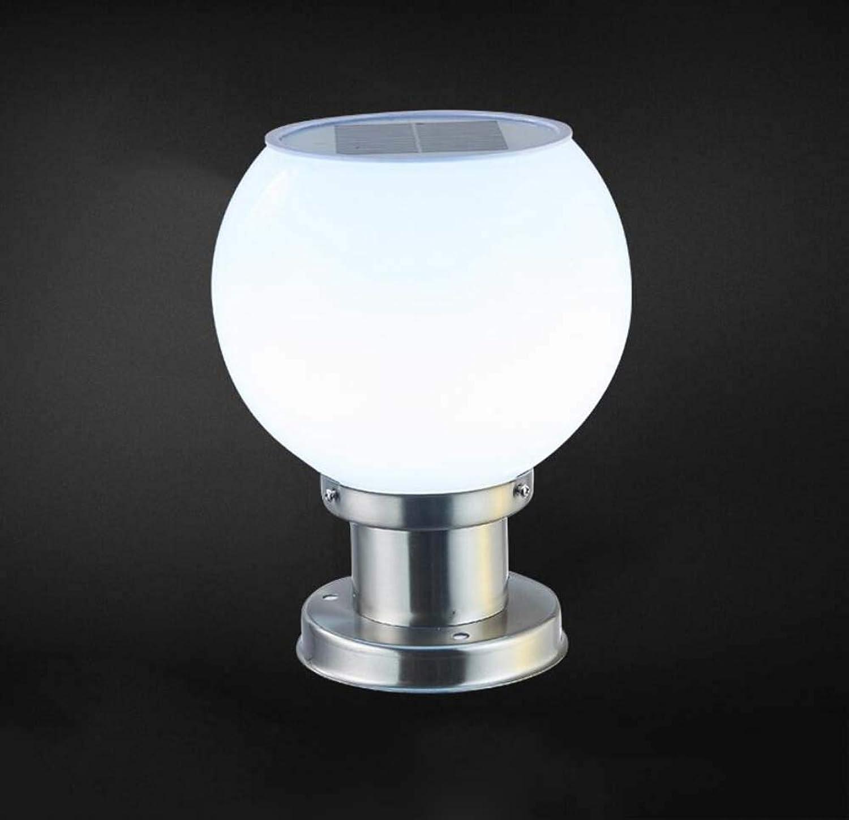 LED-Kugel-Solarleuchten, Lichtsteuerung Freien 300mm) (Gre ...