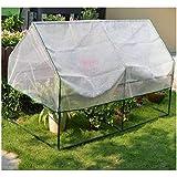 絶縁テント屋内と屋外の耐候性のある日除けのカバー裏庭のミニガーデニングの植物と花の太陽の室の耐候性と霜(Size:4-120*60*60cm)