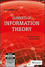 Elements of Information Theory (EDN 2) by Thomas M. Cover,Joy A. Thomas by Thomas M Cover (2006-07-31)