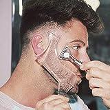 Men's Beard Shaping Tool With Inbuilt Comb...