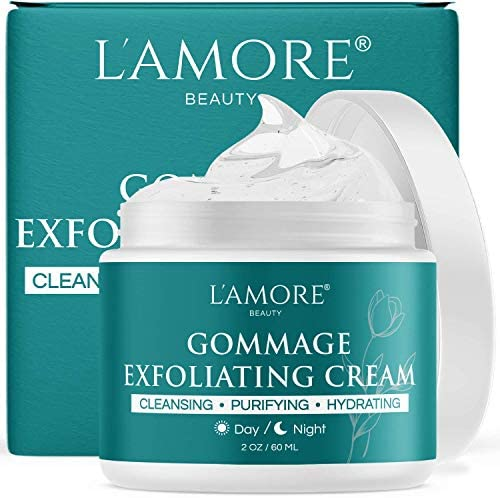 Gommage Exfoliating Cream 2oz Moisturizing Facial Scrub and Face Exfoliator Cleanses Purifies product image
