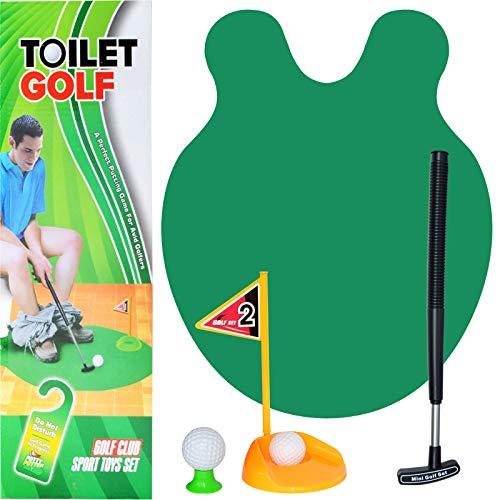 Teleskop-Toilette Golf Fun Seat Minigolf-Toilette Golf Casual Game-1 Satz