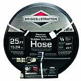 Briggs & Stratton 8BS25 25-Feet Premium Heavy-Duty Rubber Garden Hose