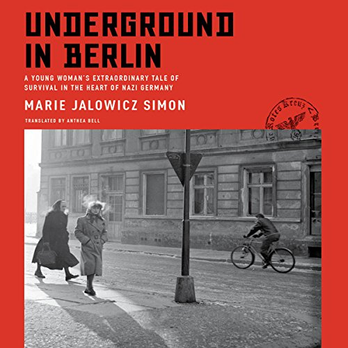Underground in Berlin audiobook cover art