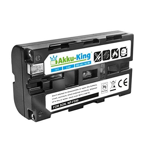 Akku-King Akku kompatibel mit Sender Futaba LT2F2200, Robbe 4553 - Li-Ion 2600 mAh - für Futaba T 12Z und T 14MZ