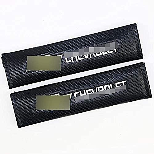 2pcs Coche Seguridad Almohadillas para cinturón de seguridad para Chevrolet Malibu Epica Trax Cruze Captiva Orlando, Almohadillas SeguridadAlmohadillas Cómodo Hombro Pad Protectores