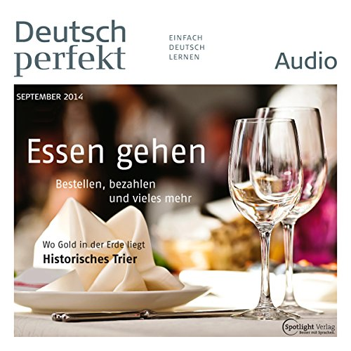 Deutsch perfekt Audio. 9/2014 Titelbild