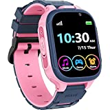 Kids Smart Watch Boys Girls with 14 Games Dual Camera 1.44' Touch Screen Music Player Video Recorder 12/24 hr Pedometer Alarm Clock Calculator Flashlight Stopwatch Electronic Learning Education Toys
