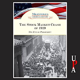 The Stock Market Crash of 1929 audiobook cover art