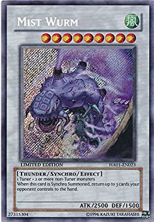 Yu-Gi-Oh! - Mist Wurm (HA01-EN023) - Hidden Arsenal - 1st Edition - Secret Rare
