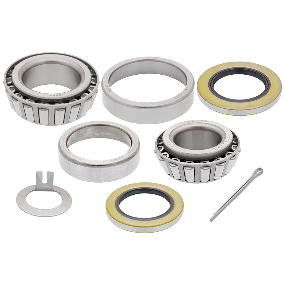 1-Set 8000 lbs Trailer Axle Fort Worth Mall Bearing Outer 02475 Kit 0 Max 65% OFF