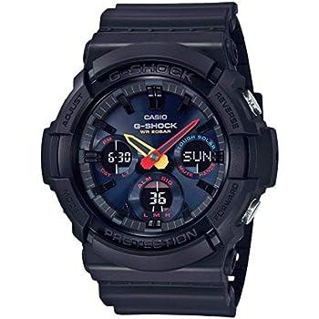 Casio G-Shock GAS-100BMC-1ACR Neo Tokyo Black Resin Watch