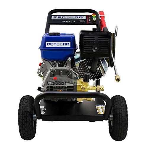 250 bar Benzin Hochdruckreiniger mit 9,6 KW (13 PS) Motor - 3