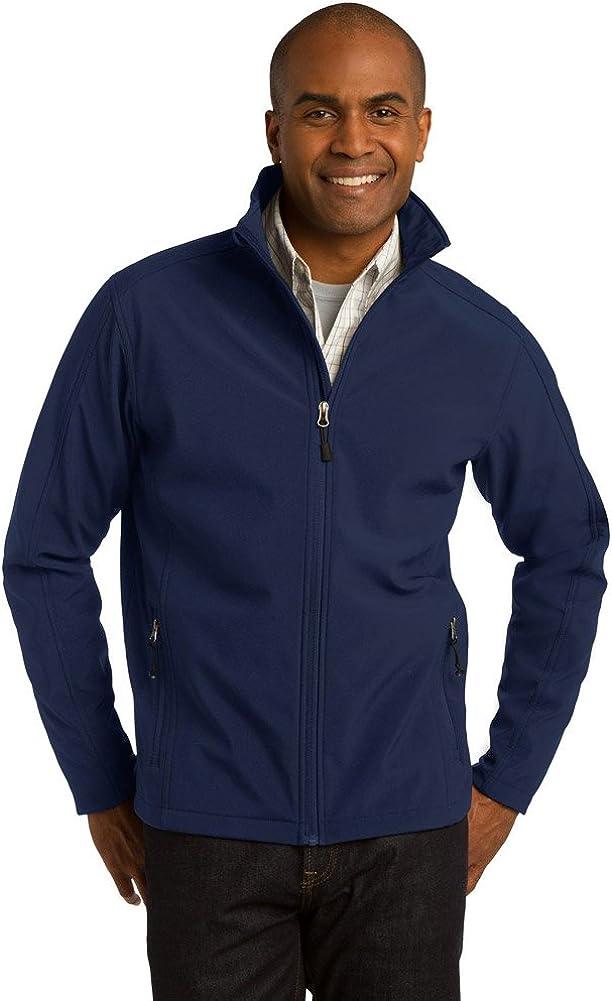 Port Authority Tall Core Soft Shell Jacket, Dress Blue Navy, XX-Large Tall
