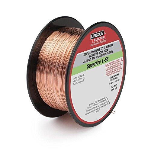LINCOLN ELECTRIC CO ED030631 .030 L-56 2LB Mig Wire