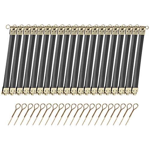 Cikonielf 20PCS Borsa in Metallo Cornice Flessibile Cornice Interna Flessibile con Chiusura a Bacio Portafogli sfusi Cornici Flessibili per Artigianato Fai-da-Te 12 cm