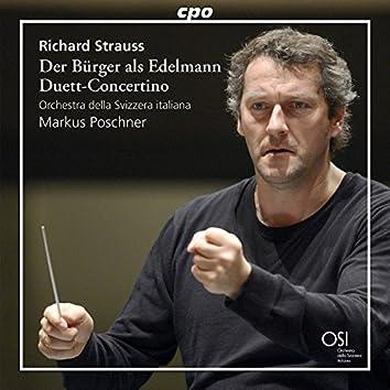 Strauss: Der Bürger als Edelmann Suite, Op. 60b, TrV 228c & Duett-Concertino, TrV 293