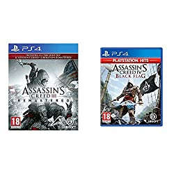 """Product 1: Assassin's Creed III Remastered includes Assassin's Creed Liberation Remastered Product 1: In addition, all solo DLCs from the original game """"Benedict Arnold Missions"""", """"Hidden Secrets"""" & """"Tyranny of King Washington are included Product 1:..."""