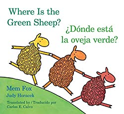 where is the green sheep by mem fox is a cute little rhyming book about sheep thats also filled with opposites while looking for the green sheep
