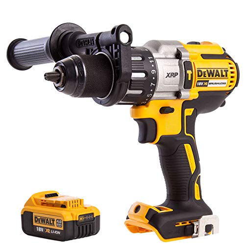 Dewalt DCD996N 18V Brushless Combi Hammer Drill with 1 x 4.0Ah DCB182 Battery