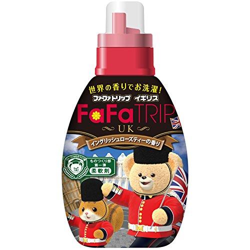 『ファーファ 濃縮柔軟剤 イギリス イングリッシュローズティー(紅茶)の香り 本体 600ml』のトップ画像