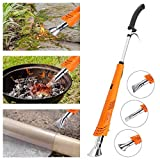 NASUM Weed Burner Electric Weed Killer Wand Thermal Weeding Stick - 2000W 230V Up to 650°C, Environmentally Friendly, for Garden, Patio, Driveway,Long Power Cable.Orange