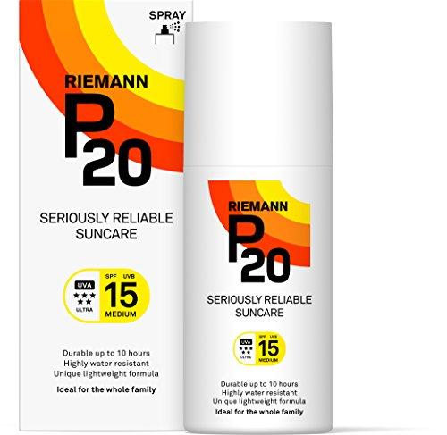 P20 ® | Sonnencreme 15 | Daylong Sonnencreme spf 15 im Sprühformat für Sehr Hohen Schutz Gegen UVA- und UVB-Sonnenstrahlen | Sonnencreme Allergische Haut Solar Spray | 200 ml