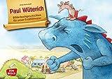 Paul Wüterich. Kamishibai Bildkartenset.: Entdecken - Erzählen – Begreifen. Bilderbuchgeschichten. Kindern den Umgang mit Wut & Streit erklären. ... für unser Erzähltheater)