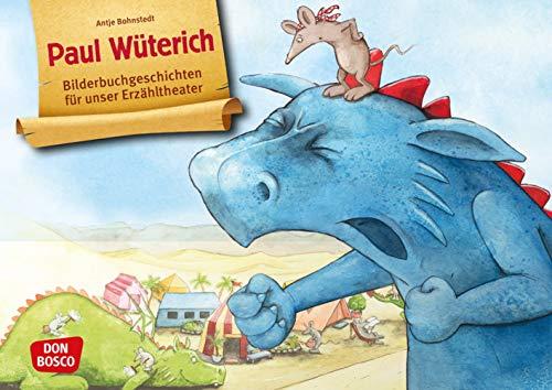 Paul Wüterich. Kamishibai Bildkartenset. Entdecken - Erzählen – Begreifen. Bilderbuchgeschichten. Kindern den Umgang mit Wut & Streit erklären. ... für unser Erzähltheater)