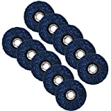 10 Pack - 4-1/2' x 7/8' Strip&Clean Discs Fit for Angle Grinders-Removes Rust Strips Paint Cleans Welds