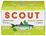Scout, Trout Ontario Dill, 3.1 Ounce