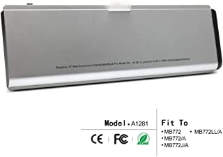 """LQM New Laptop Battery For Apple MacBook Pro 15"""" A1281 A1286 (2008 Version), fit MB772 MB772/A MB772J/A MB772LL/A"""