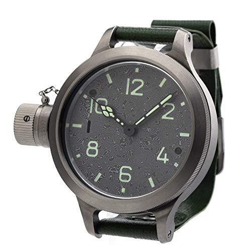 Agat 292 CHT Titan Mokume, orologio meccanico russo con vetro zaffiro