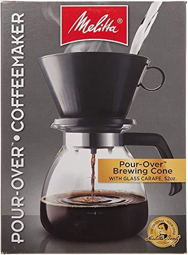 Melitta 640616 Coffee Maker, 52 oz, Glass Carafe