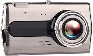 Driving Recorder Metal 4 inch Dual Lens car HD Night Vision 1080P reversing Image Loop Recording Collision Sensor