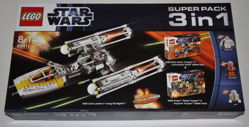 Lego 66411 Star Wars 3in1 Super Pack mit 9488 + 9489 + 9495