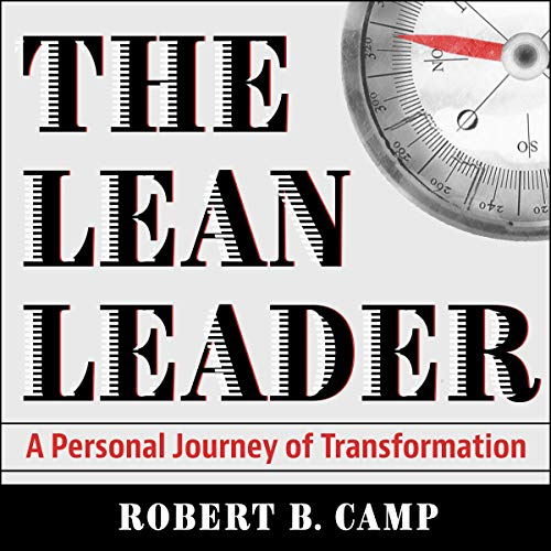The Lean Leader audiobook cover art