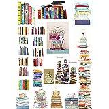 PMSMT 2 uds.Etiqueta para Libros Deco Cosas Kawaii Pegatinas sin Cortar Scrapbooking papelería Washi Tape Set útiles Escolares