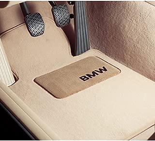 BMW 1 Series Convertible Genuine Factory OEM 82110439372 Gray Carpet Floor Mats (complete set of 4 mats)