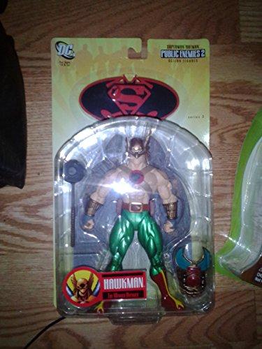 dc comics of public enemies Superman/ Batman Series 3: Public Enemies 2 Hawkman Action Figure