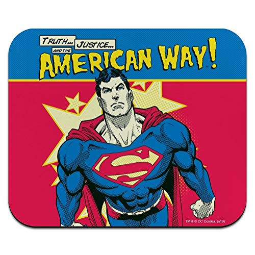 Superman The American Way Low Profile Thin Mouse Pad Mousepad