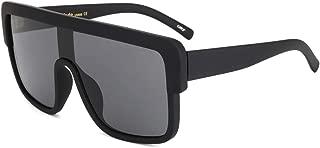 ROYAL GIRL Premium Oversized Sunglasses Women Men Flat Top Square Frame Shades